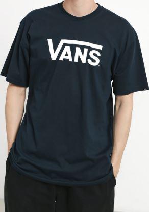 Sportowe koszulki Vans noszone na co dzień